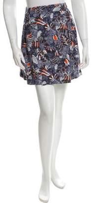 MAISON KITSUNÉ Lili Hibicus Wrap Skirt w/ Tags