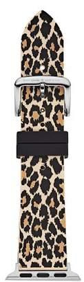 Kate Spade Leopard Print Apple Watch® Rubber Strap