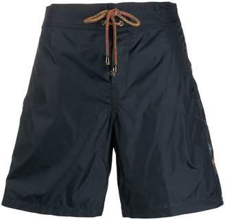 Missoni Mare biker print swimming trunks