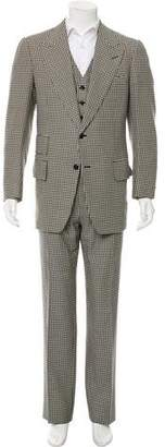 Tom Ford Three-Piece Wool Suit