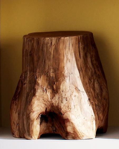 Tree Stump Footstool
