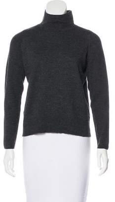 Lafayette 148 Wool Mock Neck Sweater