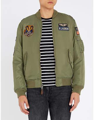 Polo Ralph Lauren Military-inspired shell bomber jacket