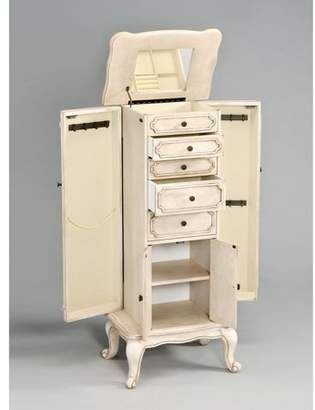 ACME Furniture ACME Lief Jewelry Armoire, Antique White