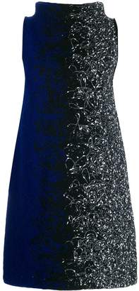 Pierantonio Gaspari Pierantoniogaspari colour contrast shift dress