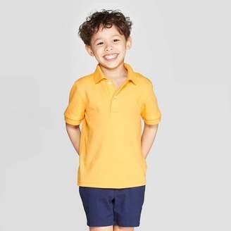 Cat & Jack Toddler Boys' Short Sleeve Interlock Uniform Polo Shirt - Cat & JackTM