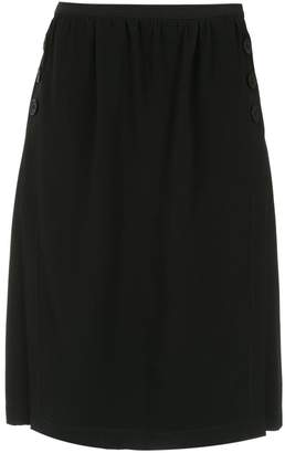 Egrey straight skirt