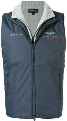 Hackett Aston Martin Racing Double Front Gilet