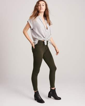 Abercrombie & Fitch High Rise Jean Legging