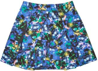 Milly Jewel Print Pleated Skirt