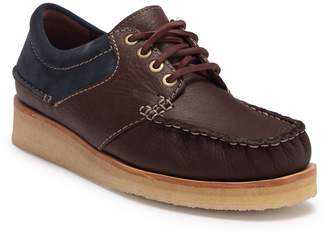 Clarks Wallace Lace-Up Moc Sneaker