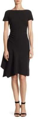 Halston Wide Boatneck Dress