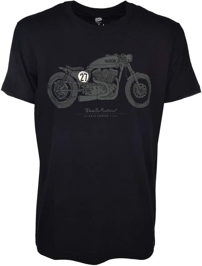 Deus Ex Machina Bald Terrioer V-Twin T-Shirt