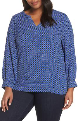 Sejour Split Neck Blouse