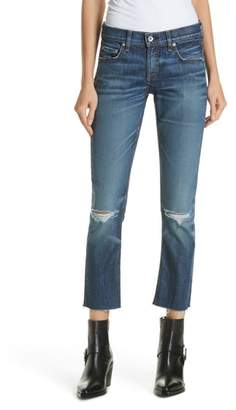 Rag & Bone The Dre Ankle Slim Boyfriend Jeans