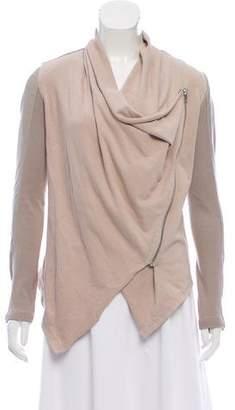 Blank NYC Knit Draped Jacket