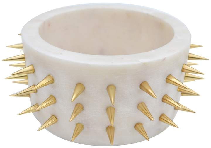 ROJO16 White/Gold England Spike Bowl