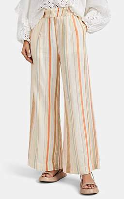 Ace&Jig Women's Stroll Striped Cotton Gauze Pants