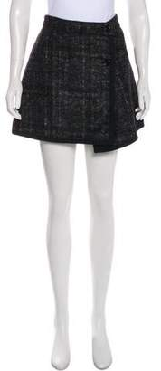 Markus Lupfer Wool Mini Skirt