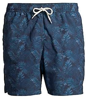 6f11ab4ab9 Barbour Men's Swim Shop Tailored-Fit Mid-Rise Tropical Swim Shorts