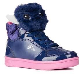 Geox DJ Rock Fuzzy Friend Sneaker