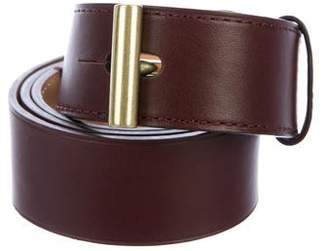 Reed Krakoff Leather Peg-In-Hole Belt