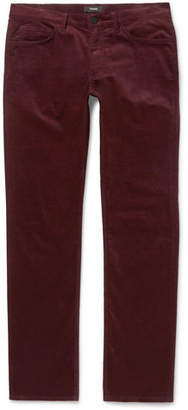 Theory Hyannis Slim-Fit Stretch-Cotton Corduroy Trousers