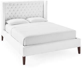 Serena & Lily Tall Broderick Tufted Bed