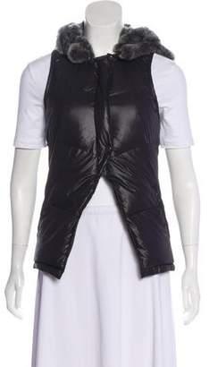 Elizabeth and James Hooded Puffer Vest