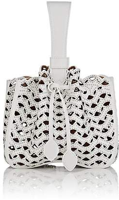 Alaia Women's Bracelet Leather Bucket Bag
