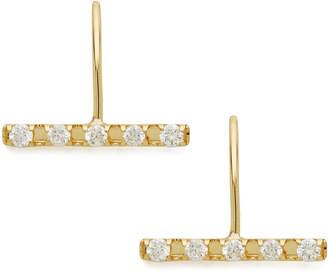 Classic Jewels K18YG ダイヤモンド(0.10ct) ピアス イエローゴールド