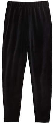 Splendid Girl's Velour Jogger Pants, Size 7-14