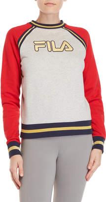 Fila Rafaella Logo Raglan Sweatshirt