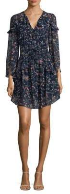 Laundry by Shelli Segal Floral Ruffle Dress