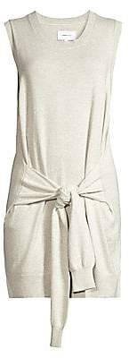 Current/Elliott Women's The Suns Out Cashmere-Blend Tie Sweater Dress