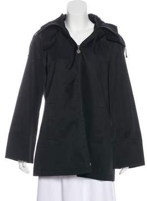 Calvin Klein Hooded Zip-Up Jacket