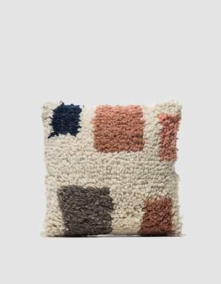 Minna Formas Shag Pillow 16x16