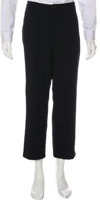 Armani Collezioni Textured Knitted Pants