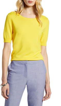 Halogen Stripe Sweater