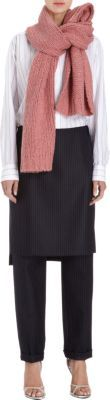 Dries Van Noten Chunky Knit Muffler