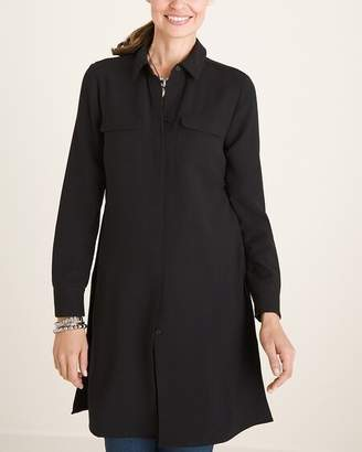 Of the Moment Modernist Collection Button-Front Tunic