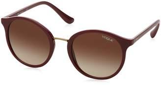 Ray-Ban Women's Plastic Woman Round Sunglasses