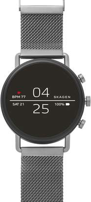 Skagen Falster 2 Touchscreen Mesh Strap Smart Watch, 40mm