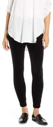 Chaus Solid Velvet Leggings