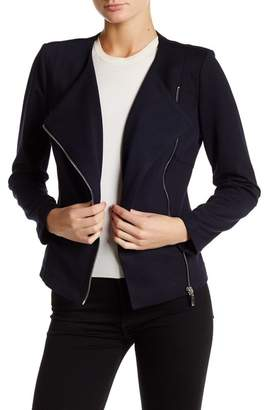 Insight Asymmetrical Zip Ponte Jacket