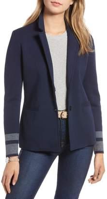 1901 Stretch Wool Blend Sweater Blazer