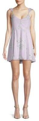 Show Me Your Mumu Delilah Ruffled Mini Dress