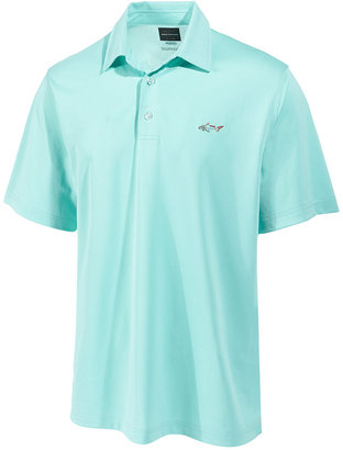 Greg Norman For Tasso Elba Men's Daddy & Me ProTech Solid Performance Sun Protection Polo $49.50 thestylecure.com
