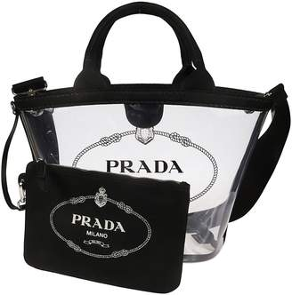 94c037383cb2 Prada Clear Bag - ShopStyle