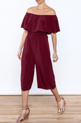 Everly Classy Loose Jumpsuit $65 thestylecure.com